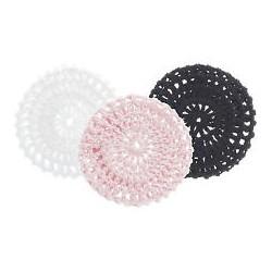 Pink hair bun nets Katz