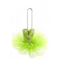 Green Tutú Keyring