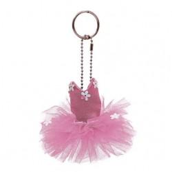 Pink Tutu Keyring