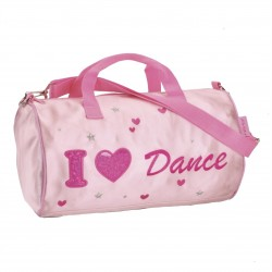 KB63 / Pink Satin Barrel Soulder Bag