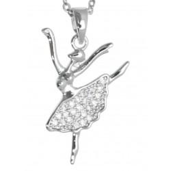 Collar Metálico Bailarina