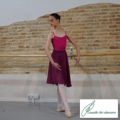 Falda gasa y pañuelo R.A.D