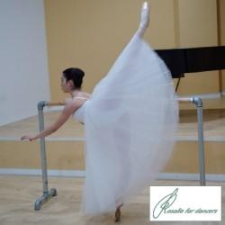 Tutú ensayo falda larga en capa Rosalie