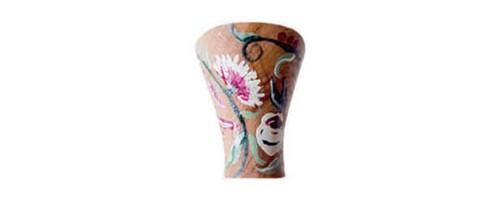 Pintado a mano: clavel