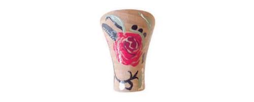 Pintado a mano: rosa